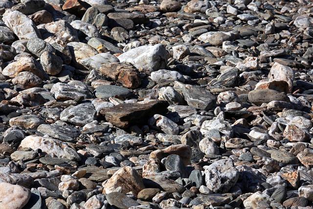 Pebble, River Bank, Pebbles, Nature