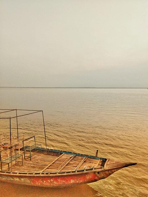 Boat, River, Nature, Bangladesh