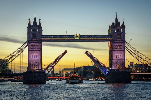 Bridge, Waters, Drawbridge, River, Travel, England