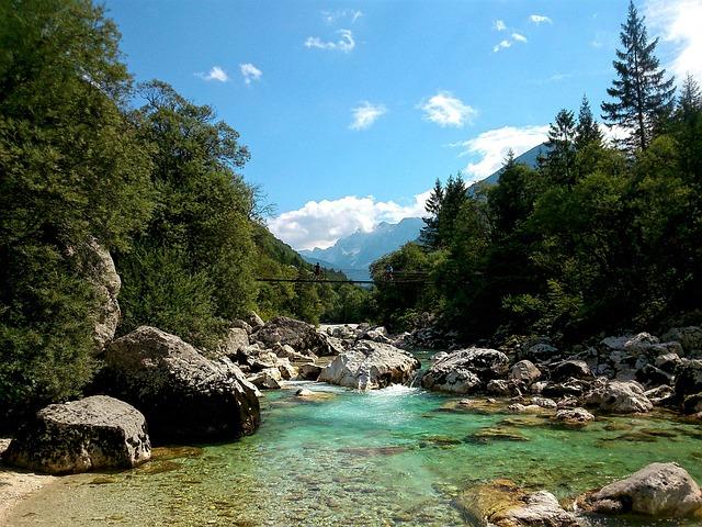 River, Landscape, Bridge, Nature, Outdoor, Environment