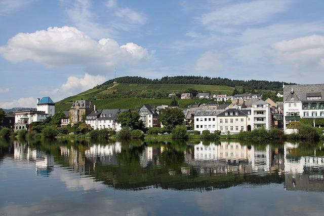 Traben-trarbach, Germany, Mosel, Moselle, River