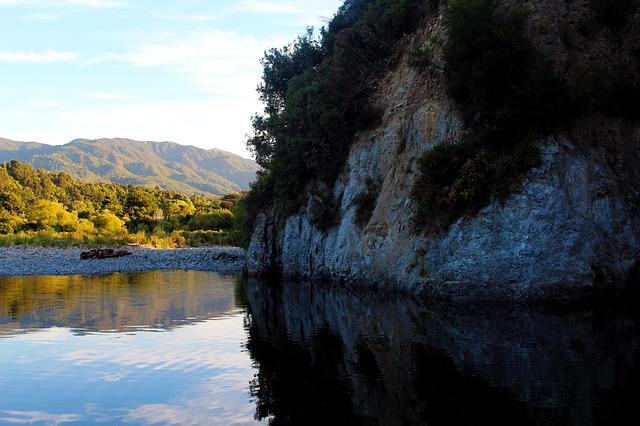 Nature, New Zealand, River, Green, Landscape, Scenic