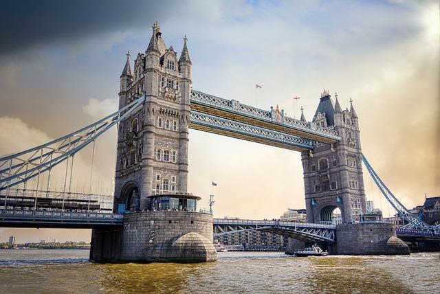 Tower Bridge, Bridge, River, Landmark, Historic