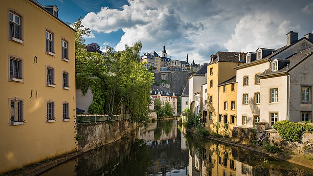 Luxembourg, Basic, Old Town, River, Historically, City
