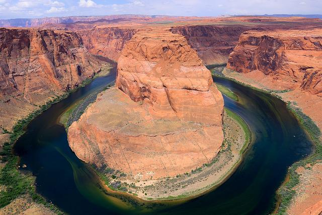 Horseshoe Bend, Arizona, Gorge, River, Nature