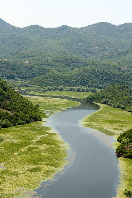 River, Mountains, Landscape, Montenegro, Valley