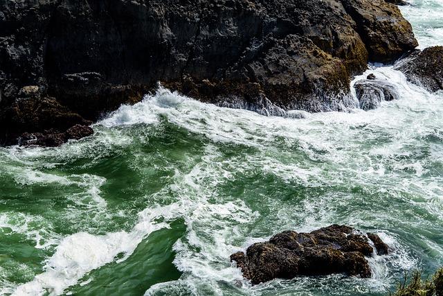 Flow, Foam, Landscape, Motion, Ocean, Outdoors, River