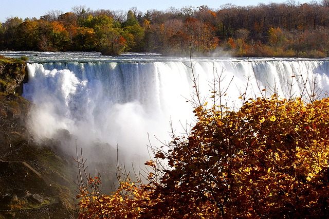 Waterfalls, Niagara Falls, Canada, River, Nature, Falls