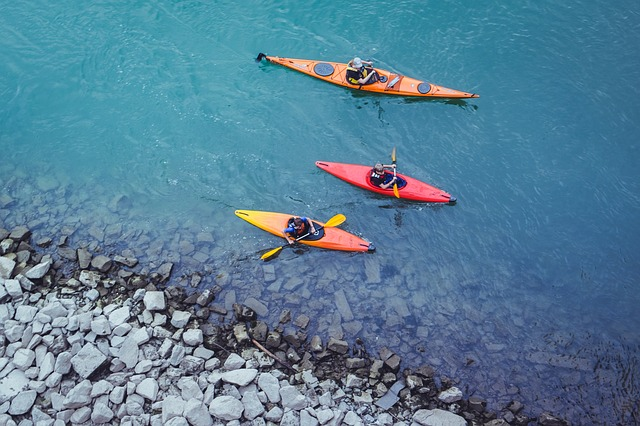 Canoeing, Water, River, Boot, Kayak, Paddle, Outdoor