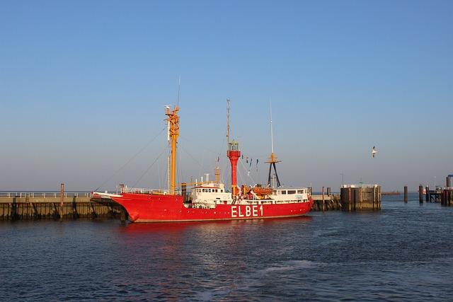 Elbe, Lightship, Port, River, Pennsylvania Sky Ship