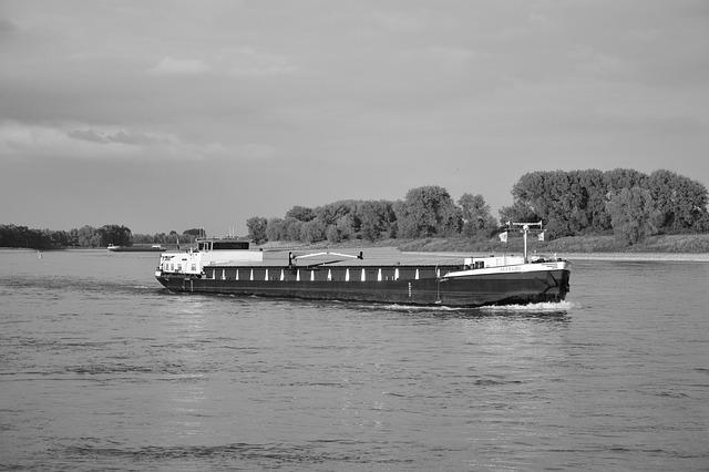 Rhine, River, Ship, Waters, Rhine River, Water