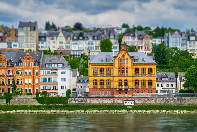 Koblenz, Rhine, River, German Corner, Sachsen, Germany