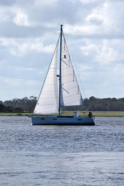 Sail Boat, Sailing, River, Boat, Sail, Water, Sea