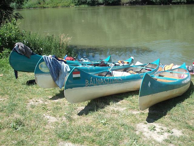 Canoeing, River Tourism, Dunakiliti, Danube, Boads