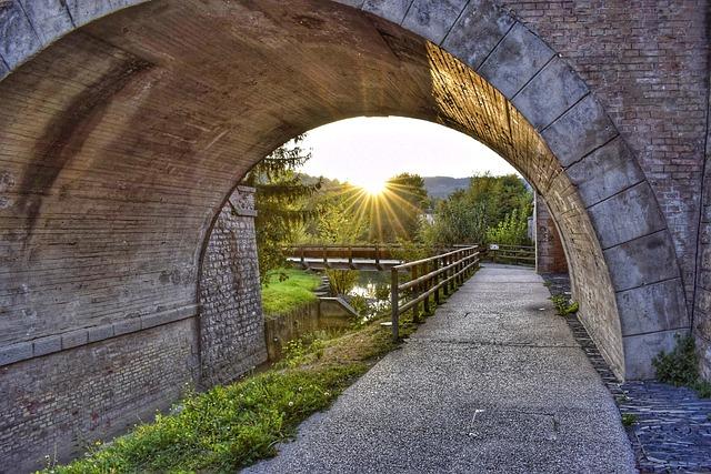 Bridge, River, Italy, Small Villages, Umbertide, Umbria