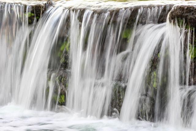 Waterfall, Water, Cascade, River, Stream