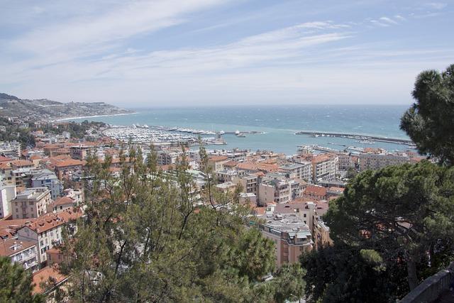 Sanremo, Riviera, Liguria, Riviera Dei Fiori