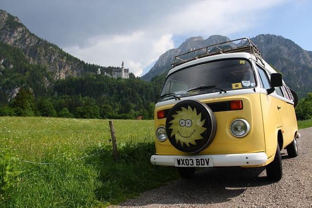 Germany, Campervan, Sun, Travel, Explore, Road, Way