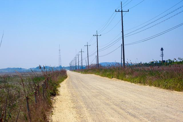 Nature, Heaven, Outdoors, Scenery, Industry, Road