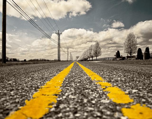 Road, Road Marking, Street, Miles, Travel