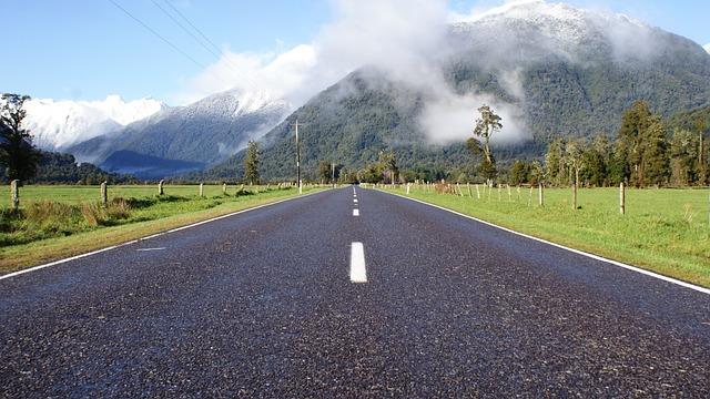 Road, Asphalt, Nature