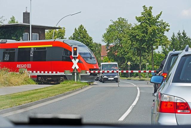 Auto, Train, Priority, Transport System, Road, Traffic