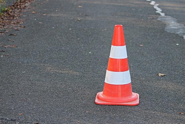 Pylon, Traffic Cone, Barrier, Road Sign, Lock, Road