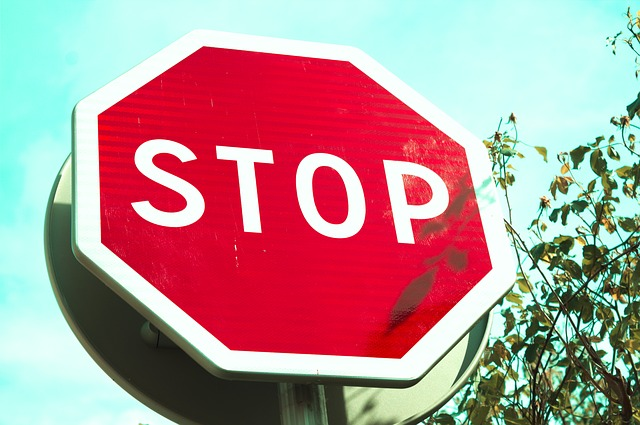 Stop, Panel, Red, Road Sign, Road, Signal, Crossroads