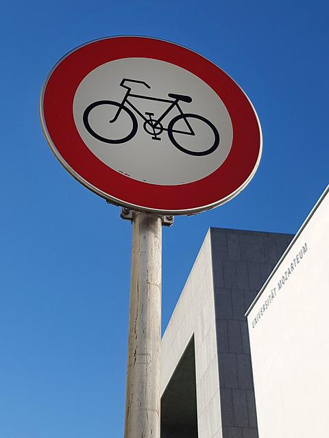 Bike Ban, Traffic Sign, Street Sign, Road Sign
