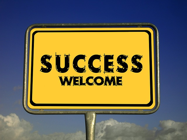 Success, Welcome, Invitation, Road Sign, Traffic Sign