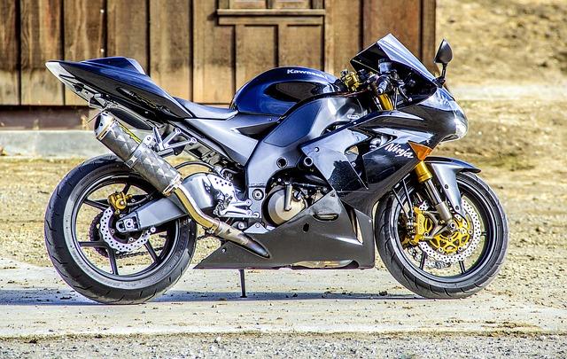 Motorcycle, Kawasaki, Speed, Bike, Road, Transportation