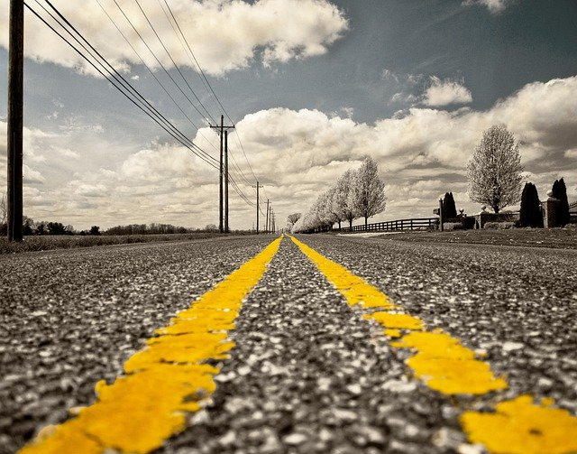 Road, Road Marking, Street, Miles, Travel