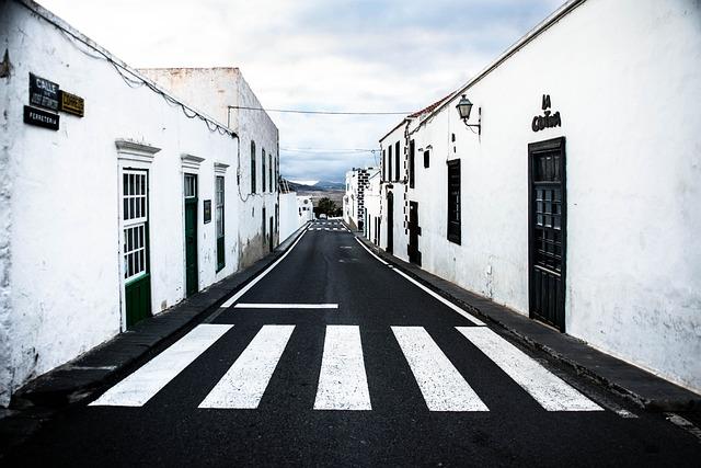 Calle Jose Betancort, Teguise, Lanzarote, Road