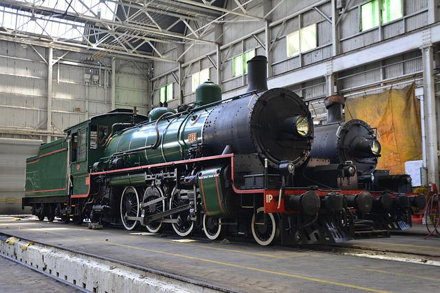 Brisbane, Train, Steam, Travel, Australia, Road