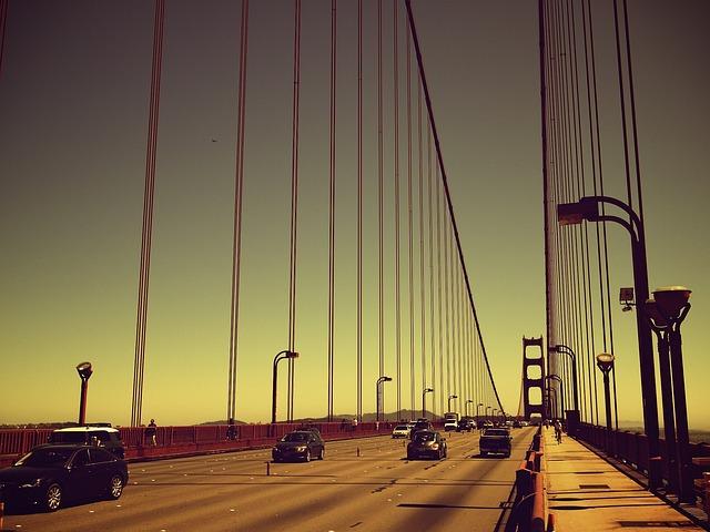 Highway, Motorway, City, Road, Travel, Transport