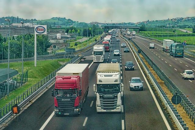 Highway, Road, Truck, Vehicles, Mobility, Road System
