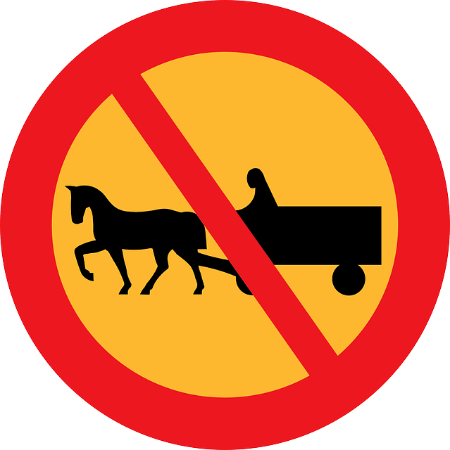 No Carriages, Road Sign, Roadsign, Street Sign, Sign