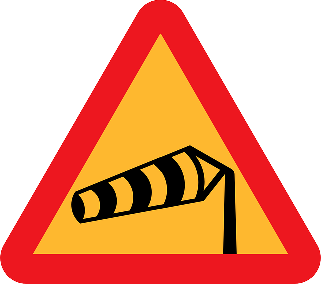 Roadsigns, Warning Sign, Windsock, Windshear, Gusty