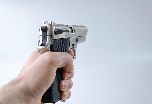 Hand, Pistol, Weapon, Gun, Shoot, Security, Robbery