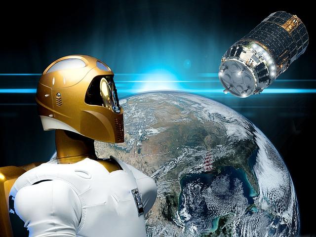 Robonaut, Space, Probe, Spacecraft Engine, Skillful