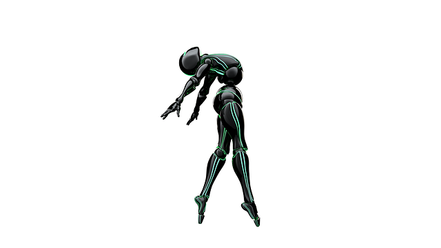 Bot, Dance, Pose, Robot, 3d