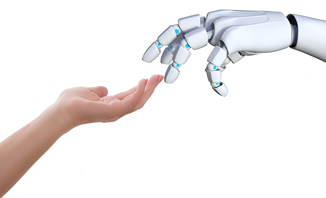 Connection, Hand, Human, Robot, Touch, Gesture