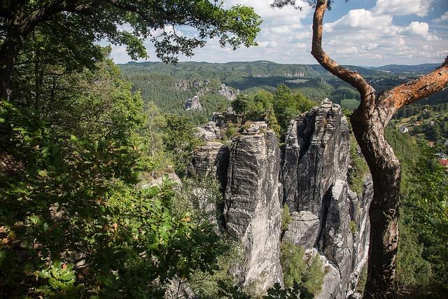 Rock, Saxon Switzerland, Bastei