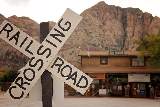 Bonnie Springs Ranch, Railroad, History, Rock, Geology