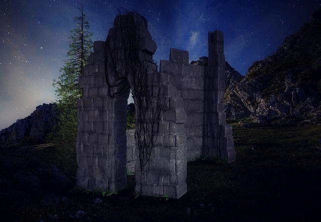 Ruin, Burgruine, Castle, Landscape, Rock, Mountains
