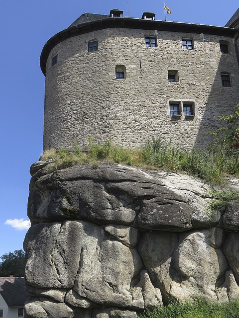 Castle, Summit Castle, Rock, Places Of Interest, Fixing