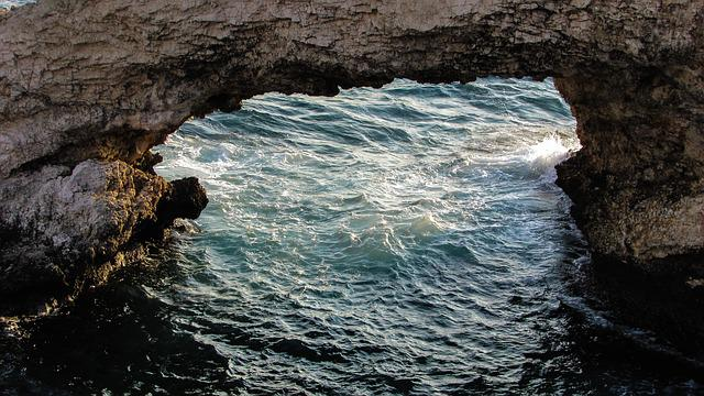 Rock, Sea, Rough, Waves, Nature, Cyprus, Ayia Napa