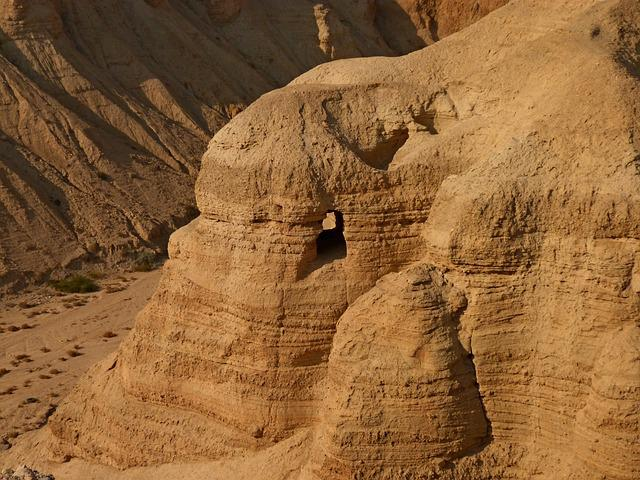 No One, Desert, Travel, Sand, Rock, Qumran, Jewish