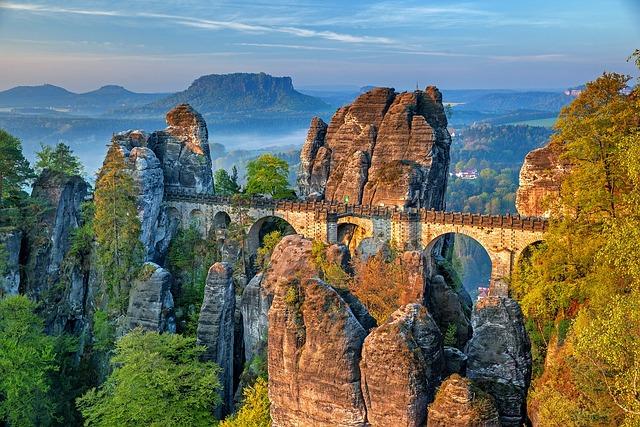 Bastei, Bridge, Rock Formation