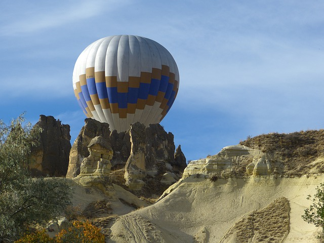 Cappadocia, Hot Air Balloon, Tufa, Rock Formations